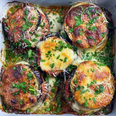 Eggplant Parmesan Towers recipe
