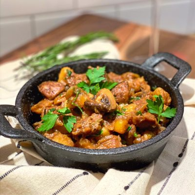 rustic countryside stew