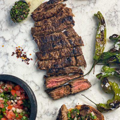Seared Skirt Steak